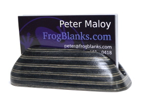 Frogwood Business Card Holder by Cliff